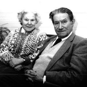 Kate & Peter Roth. Founders of Botton Village