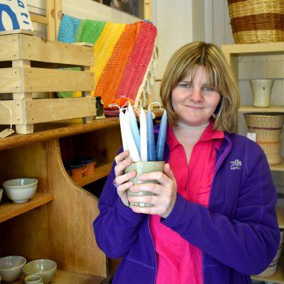 Volunteering at Taurus Crafts