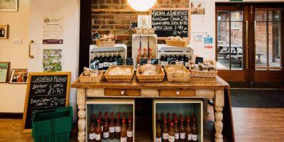 Larchfield Community Café reopens