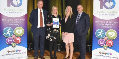 Gold Award Winners for Better Health at Work