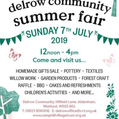 delrow community summer fair