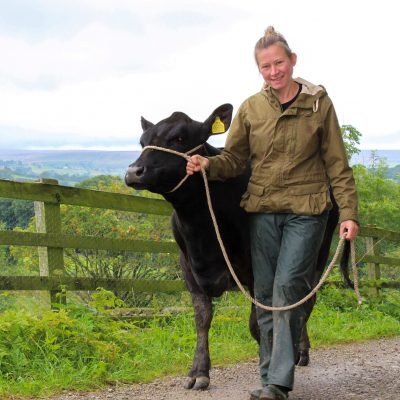 Claire's a finalist in the British Farming Awards