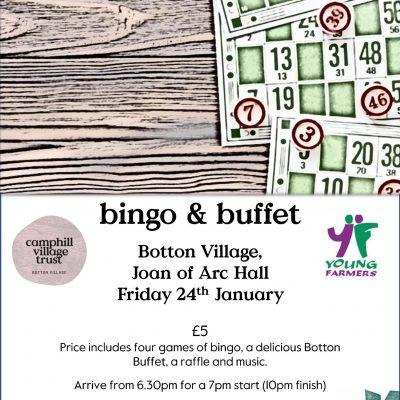 Bingo and Buffet