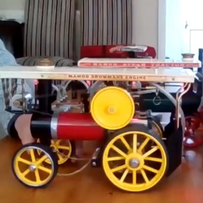 Hobbies: Aidan's miniature engines