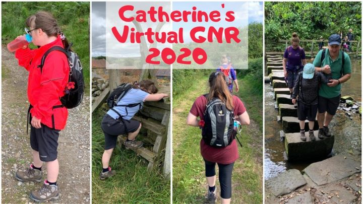 Catherine's Virtual Great North Run fundraising challenge