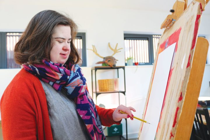 Our St Albans Art Studio has now re-opened - with space to provide socially-distanced workshops.