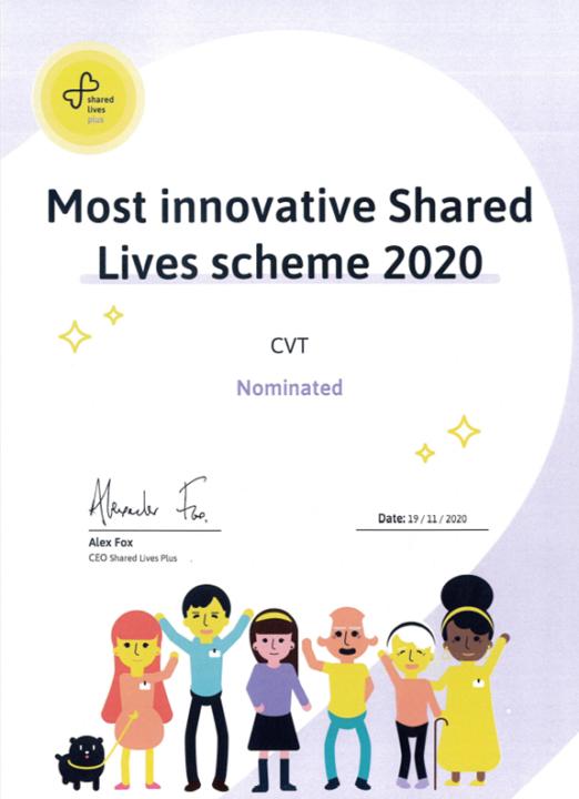 Shared Lives nomination