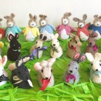 Botton Bunnies. The perfect Easter gift