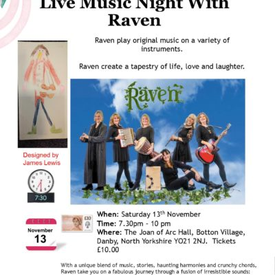 Live music night with Raven